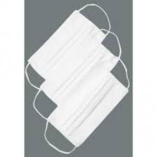 Купить Маска защитная спанбонд/мельтблаун/спанбонд , 3-х сл, (10 шт) БЕЗ НДС со штампом по низким ценам