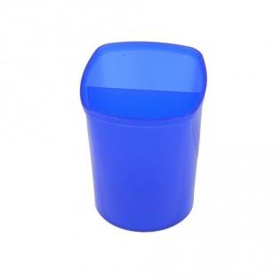 Купить Подставка-стакан для ручек, пластик, синяя