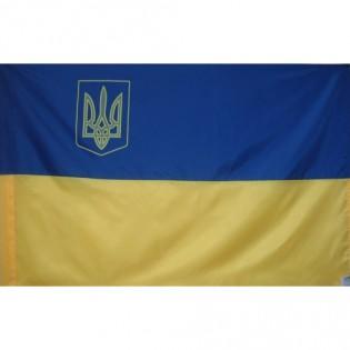 Купить Флаг Украины (100см*150см) по низким ценам