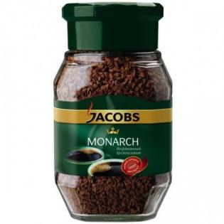Купить Кофе растворимый в ст/б, Monarch (190г) по низким ценам