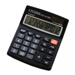 Купить Калькулятор 12 разр. средний SDC-812NR (100х125х34)  по низким ценам