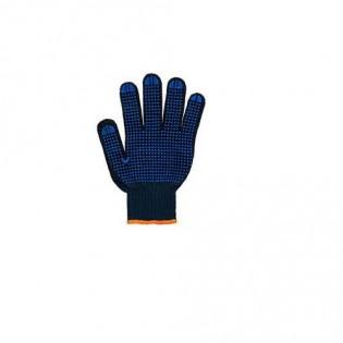 Купить Перчатки хлопчатобумажные с ПВХ  оранжевые 10-й класс, плотность 0,400мм Doloni по низким ценам