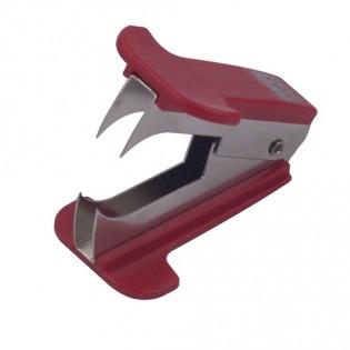 Купить Антистеплер BM.4490-05 красный  с фиксацией зубцов в закрытом положении по низким ценам
