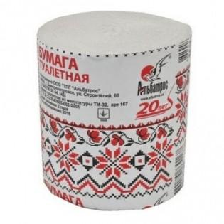 Купить Туалетная бумага макулатурная серая (90мм*90мм) Альбатрос (СБО) 180 по низким ценам