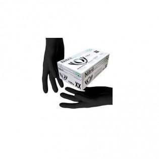 Купить Перчатки нитриловые не опудр. XL (пара) черная SFM (без НДС) по низким ценам