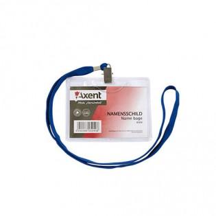 Купить Бейдж горизониальный 116х92/100х80 на шнурке Ax4504-A по низким ценам