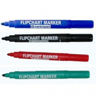 Купить Маркер для флипчартов (по бумаге) круглый (2,5мм) синий 8550/03 по низким ценам