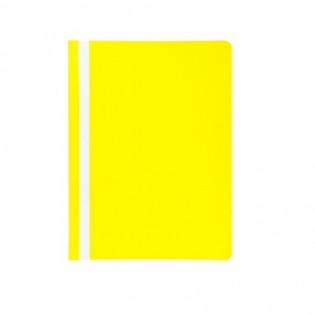 Купить Скоросшиватель А4 пластик.  желтый BM.3313-08 по низким ценам