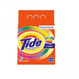 Купить Стиральный порошок (2400 гр)  автомат для цветного Tide по низким ценам