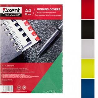 Купить Обложка для биндера А4, 230мкм (50шт/уп) картон, зеленая под кожу 2730-04-a по низким ценам