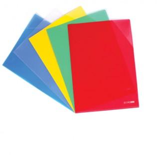 Купить Папка - уголок А4 mix, 3 отделения, 180мкм, Е31154 по низким ценам