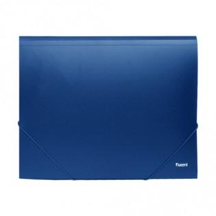 Купить Папка-бокс А4/35 пластик.2 резинки синяя 1508-02-А по низким ценам