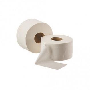 Купить Туалетная бумага, целлюлозная, белая (91мм*190мм/120м) 2-х слойн./1000 отрывов