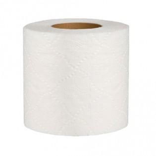 Купить Туалетная бумага, целлюлозная, белая на гильзе (91мм*105мм/15м) 2-х слойн./800 отрывов TP020 по низким ценам