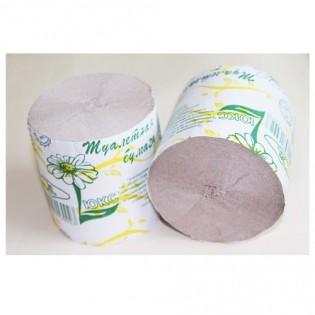 Купить Туалетная бумага макулатурная серая (90мм*85мм) РОМАШКА по низким ценам