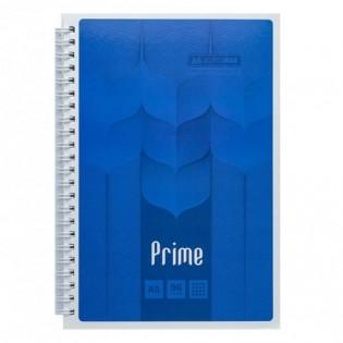 Купить Блокнот  А5 96л # м/о, боковая спираль синий PRIME BM.24551101-02 по низким ценам