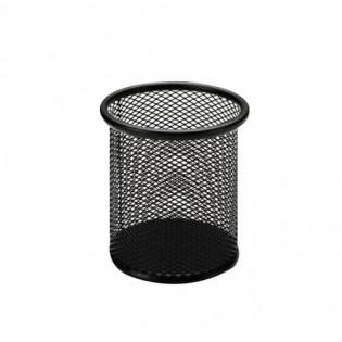 Купить Подставка-стакан для ручек, метал, круглая черная  Ах2110-01-А  по низким ценам