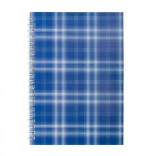 Купить Блокнот  А5 48л # м/о, боковая спираль фиолетовый Shotlandka BM.2591-07 по низким ценам