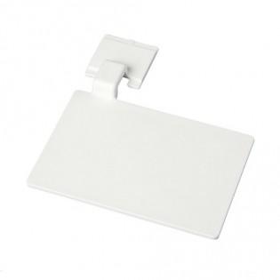 Купить Маркировочный значек для алюмин. рейки, цвет белый ХАССП по низким ценам
