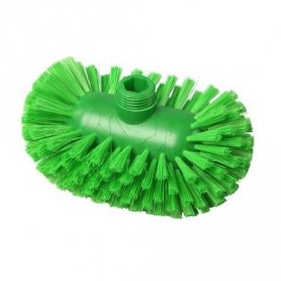 Купить Щетка для мытья резервуаров, 200*120, полиэстер, цвет зеленый, FBK ХАССП по низким ценам