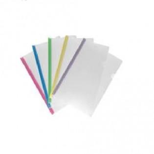 Купить Скоросшиватель А4/8мм пластик. с планкой MIX 1418-00-А по низким ценам