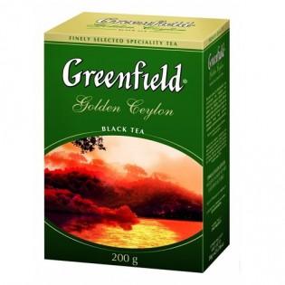 Купить Чай в картон.уп. (200г) черный Golden Ceylon по низким ценам