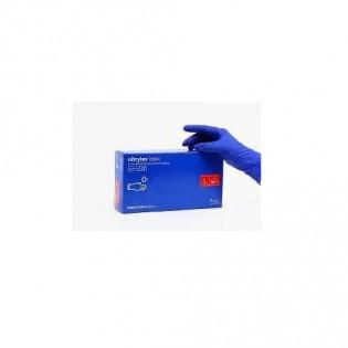 Купить Перчатки нитриловые не опудр. M (100 шт) синяя Nitrylex (без НДС) по низким ценам