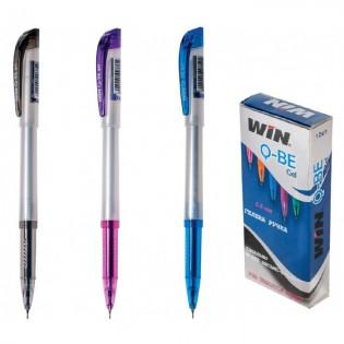 Купить Ручка гелевая (0,6) синяя QBE  WIN по низким ценам