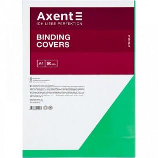 Купить Обложка для биндера А4, 180мкм (50шт/уп) пластик, прозрачна зеленая  2720-04-a по низким ценам