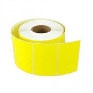 Купить Термоэтикетка 58*40 (500шт) ЭКО желтая по низким ценам