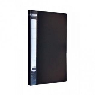 Купить Папка-cкоросшиватель А4 (CLIP А) пластик. черная BM.3406-01 по низким ценам