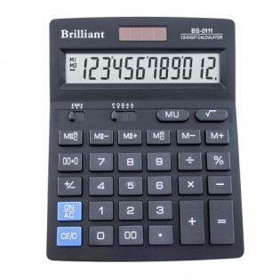 Купить Калькулятор 12 разр. бухгалтерский BS0111 (140x176x45)  по низким ценам