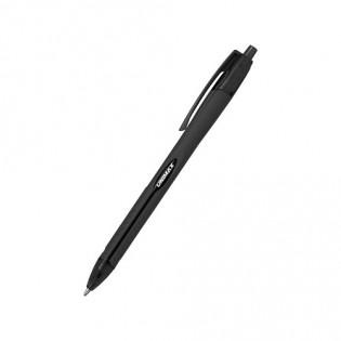Купить Ручка масляная автомат. (0,7) черная Aerogrip  UX-136-01 по низким ценам