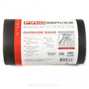 Купить Пакет для мусора 35л/100шт HD (50*55) черный PS по низким ценам