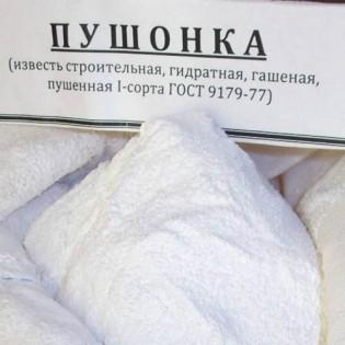 Купить Известь гашеная (25 кг мешок)