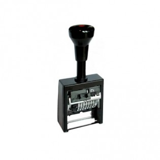 Купить Нумератор автоматический 8-ми разрядный пластмассовый 5,5 мм В6К/8/antigue по низким ценам