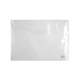 Купить Папка-конверт пласт. А4 на кноп. прозр. 1402-27-A по низким ценам