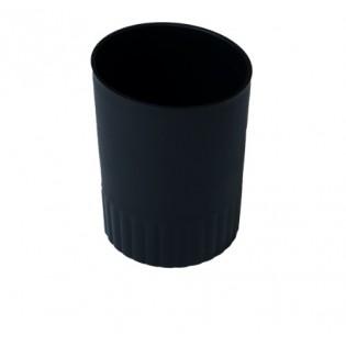Купить Подставка-стакан для ручек, пластик, черная  BM.6351-01 по низким ценам