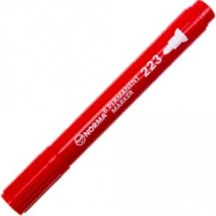 Купить Маркер перманент. круглый  (2,4-4,5мм) красный 223-01 по низким ценам