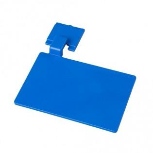 Купить Маркировочный значек для алюмин. рейки, цвет синий ХАССП по низким ценам