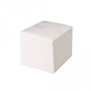 Купить Салфетки бумажные белые (500шт) 51 М (тиснение - кирпич) по низким ценам
