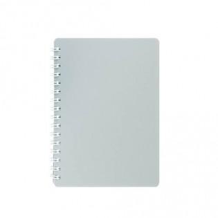 Купить Блокнот  А6 80л # пласт. обложка, боковая спираль, серый CLASSIC BM.2589-009 по низким ценам