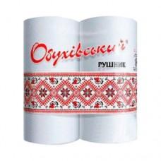 Купить Полотенца бумажные целлюлозные белые, рулон.(230*220мм/16м) 2-х слойн/38отр (2шт) Обухов по низким ценам