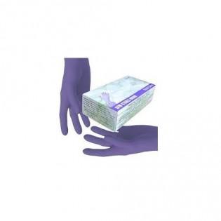 Купить Перчатки нитриловые не опудр. L (100 шт) синяя SFM (без НДС) по низким ценам