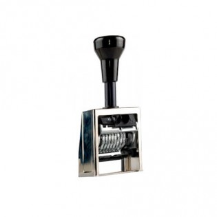 Купить Нумератор автоматический 8-ми разрядный металлический 5,5 мм В6/8/antique по низким ценам