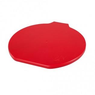 Купить Крышка пластик. для пищевого ведра (9л) красная ХАССП по низким ценам