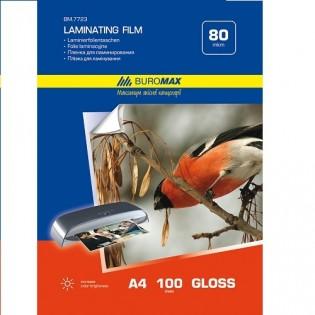 Купить Пленка для ламинирования А4, 80 мкм (100шт) BM.7723   по низким ценам