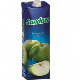 Купить Сок Sandora яблочный, (950мл)  по низким ценам
