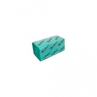 Купить Полотенца бумажные макулатурные Z сложен. зеленые (220*230мм/200шт)1-о слойн. Кохавинка по низким ценам