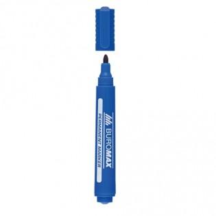 Купить Маркер перманент. круглый (2-4мм) синий BM.8700-02 по низким ценам